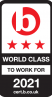 Best Companies 2021 - world class to work for
